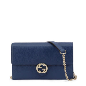 Gucci Womens Blue Shoulder Bag with Removable Strap - 510314_CA00G