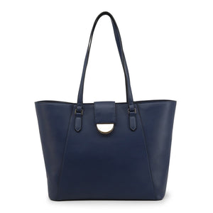 Valentino by Mario Valentino Womens Blue Shopper Bag - FALCOR-VBS3TP01