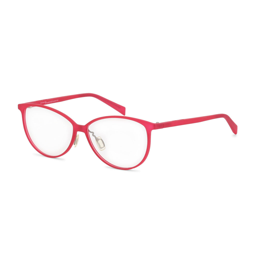 Italia Independent Womens Red Eyeglasses - 5570A