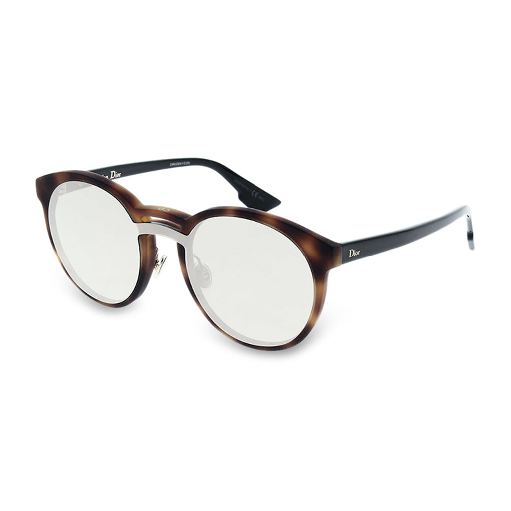 Dior Womens Brown Tortoise Shell Sunglasses - DIORONDE1