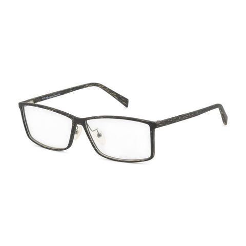 Italia Independent Mens Green Patterned Frame Eyeglasses - 5563A