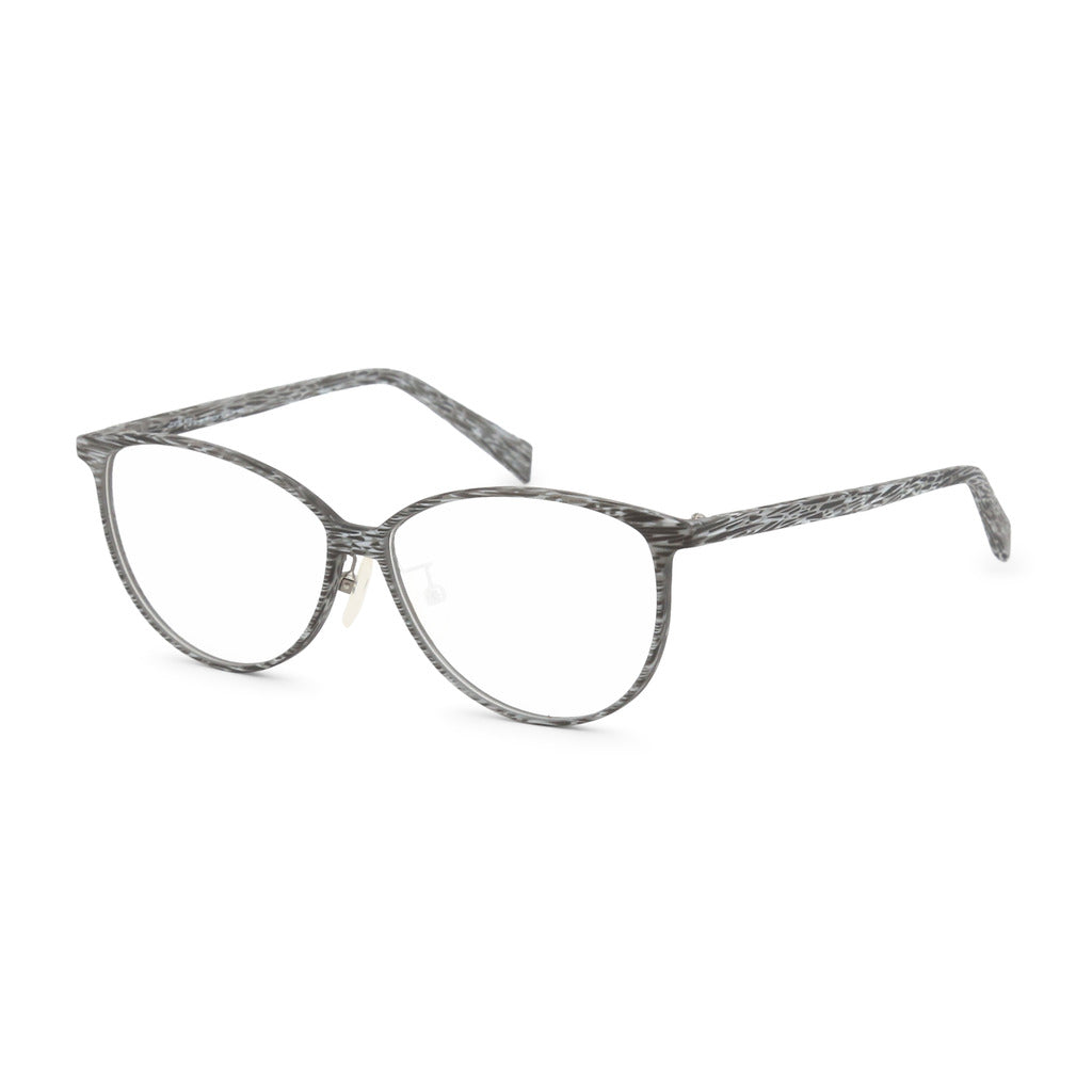 Italia Independent  Womens Grey Eyeglasses with Pattern - 5570A