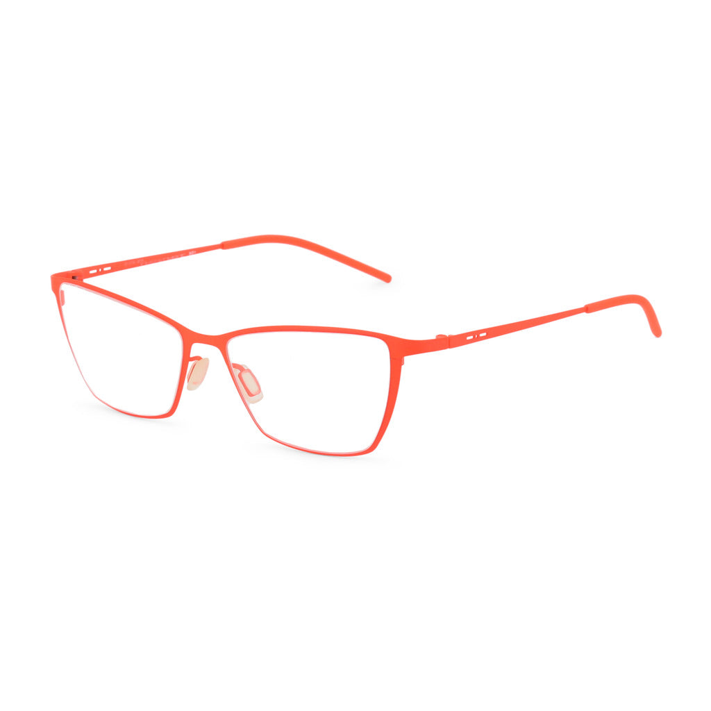 Italia Independent Womens Orange Metal Frame Eyeglasses - 5202A