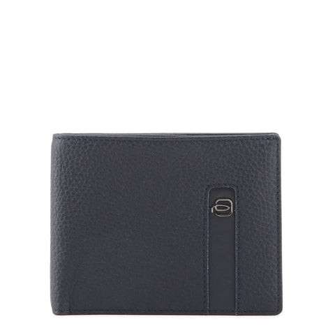 Piquadro Mens Blue Leather Card Holder - PU1241S86