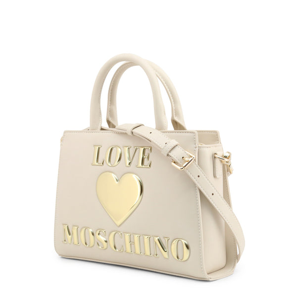 Love Moschino Womens White Shoulder Bag - JC4034PP1BLE