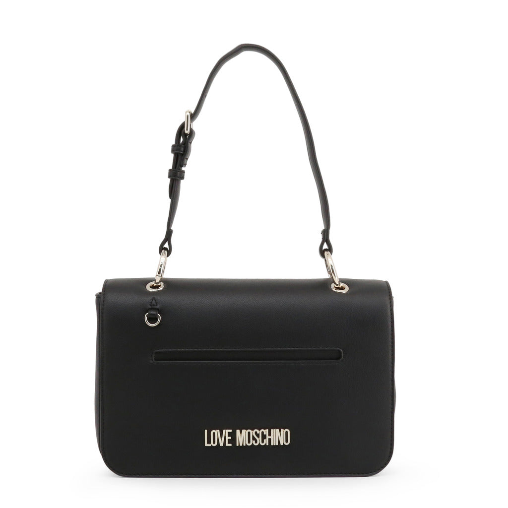 Love Moschino Womens Black Shoulder Bag - JC4102PP1ALQ