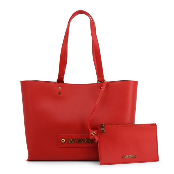 Love Moschino Womens Red Shopper Bag - JC4024PP1ALD