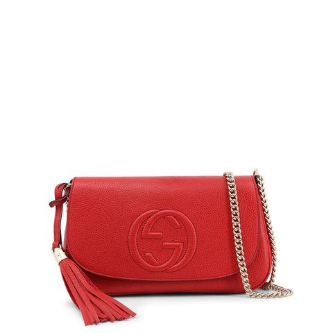 Gucci Womens Red Crossbody Bag with Magnetic Fastening - 536224_A7M0G