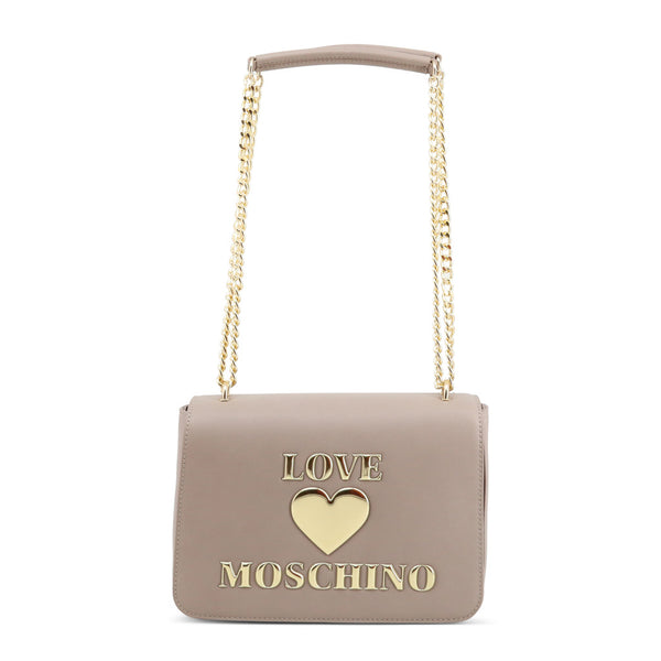 Love Moschino Womens Grey Shoulder Bag - JC4035PP1BLE