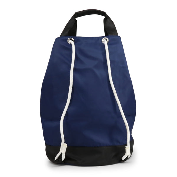Laura Biagiotti Womens Navy Blue Backpack with Drawstring - LEYA_LB20S-261-2