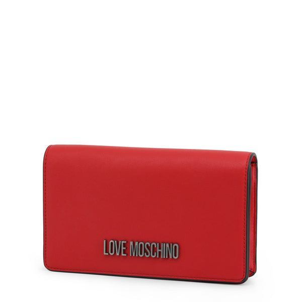 Love Moschino Womens Red Crossbody Bag with Adjustable Strap - JC4047PP18LE
