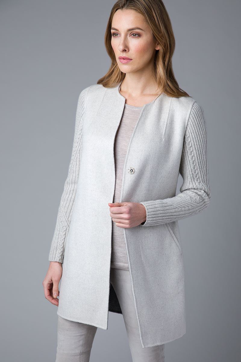 Cable Sleeve Coat