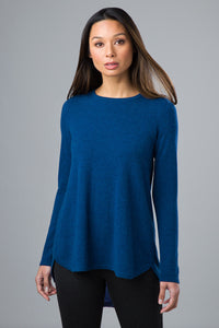 Pleat Back Pullover