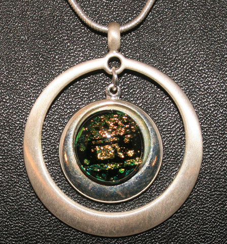 Imaginative Creations Circle Pendant #1 With Setting