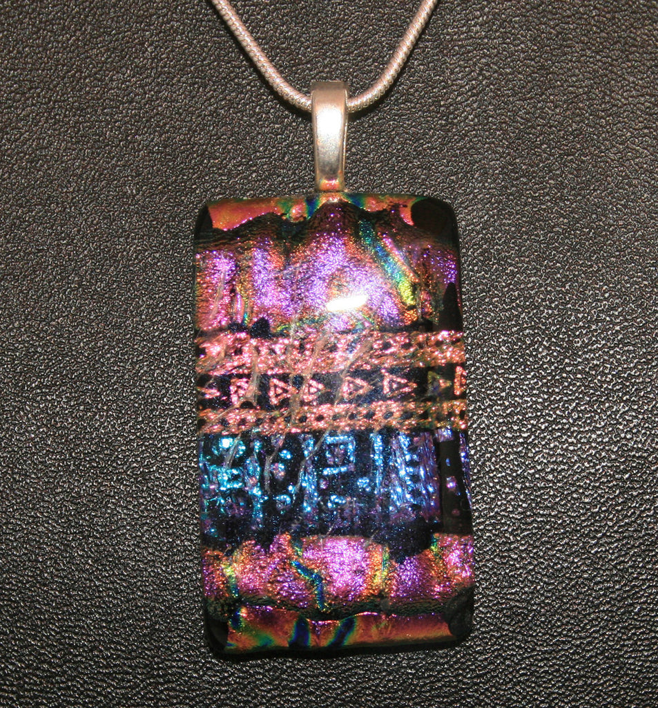 Imaginative Creations Bailed Pendant #12 Memorable Glass Jewelry