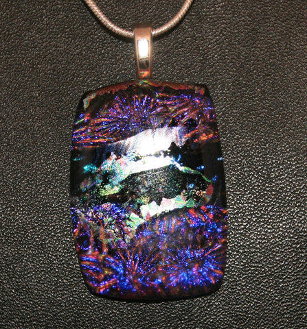 Imaginative Creations Bailed Pendant #14 Memorable Glass Jewelry