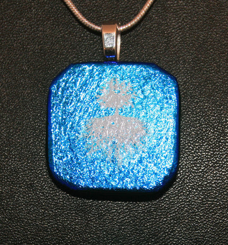 Imaginative Creations Bailed Pendant #18 Memorable Glass Jewelry