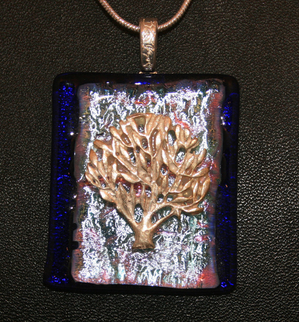 Imaginative Creations Bailed Pendant #19 Memorable Glass Jewelry