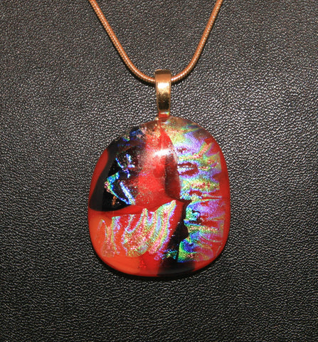 Imaginative Creations Bailed Pendant #21 Memorable Glass Jewelry