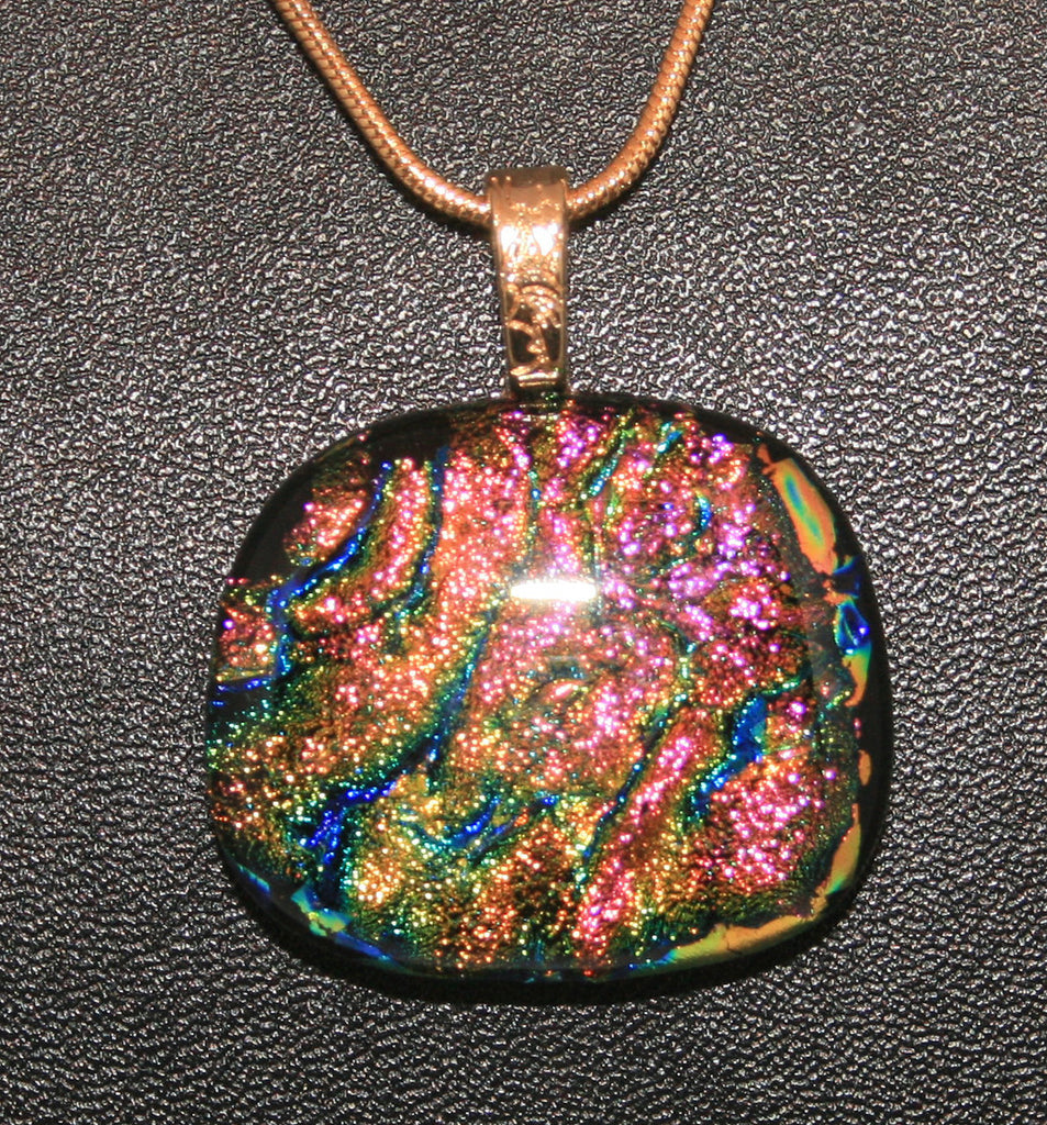 Imaginative Creations Bailed Pendant #24 Memorable Glass Jewelry