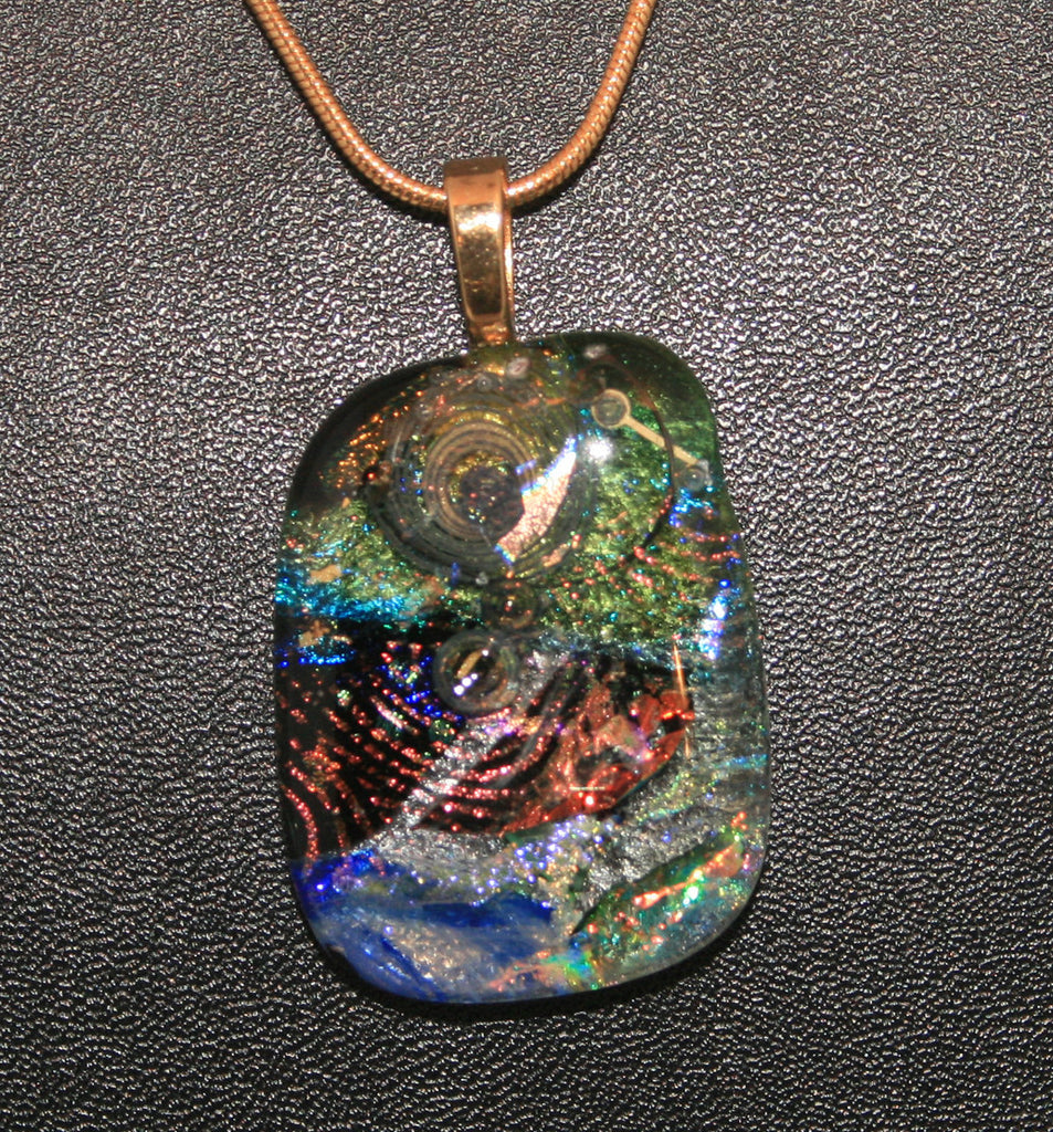 Imaginative Creations Bailed Pendant #30 Memorable Glass Jewelry