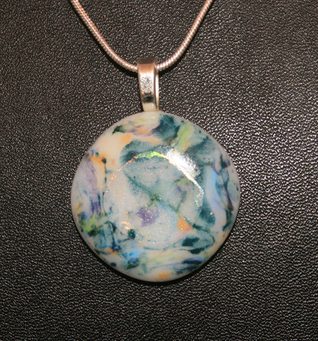 Imaginative Creations Bailed Pendant #33 Memorable Glass Jewelry