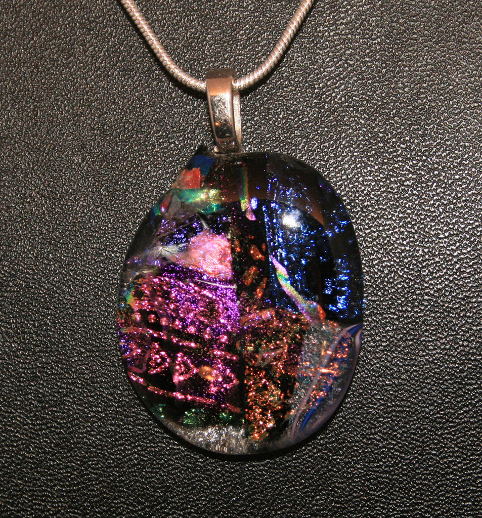 Imaginative Creations Bailed Pendant #35 Memorable Glass Jewelry