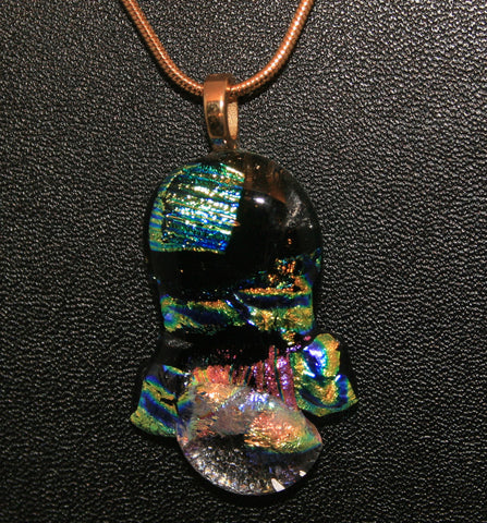 Imaginative Creations Bailed Pendant #38 Memorable Glass Jewelry