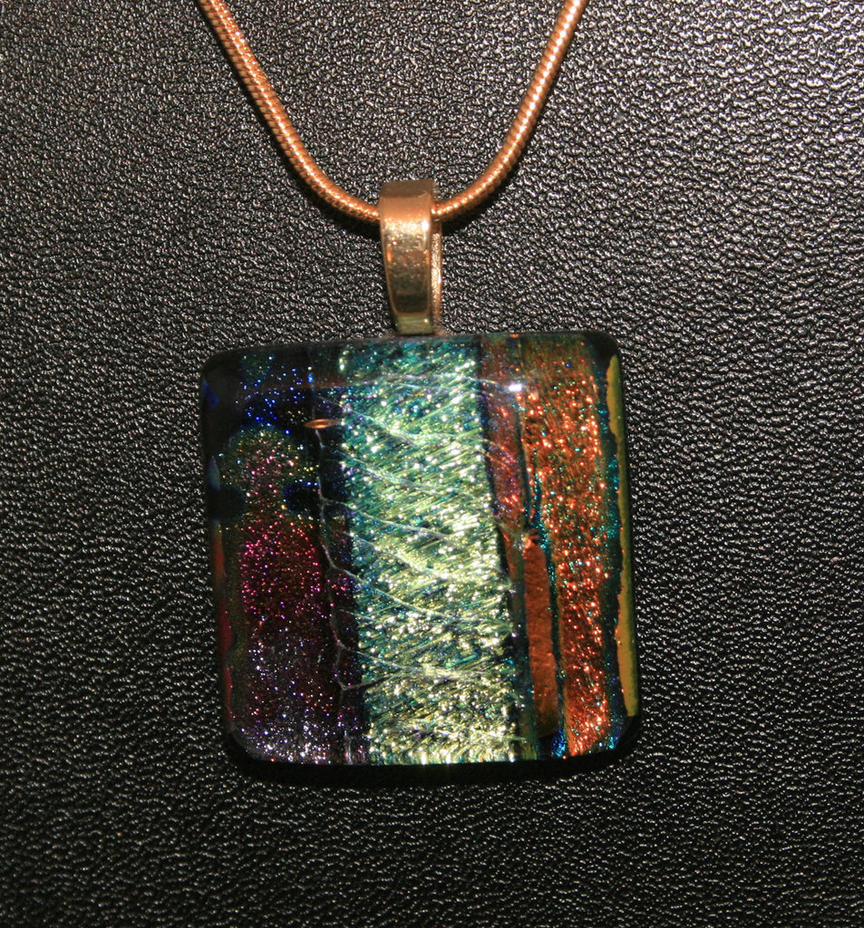 Imaginative Creations Bailed Pendant #39 Memorable Glass Jewelry
