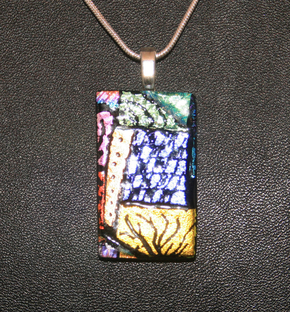 Imaginative Creations Bailed Pendant #41 Memorable Glass Jewelry