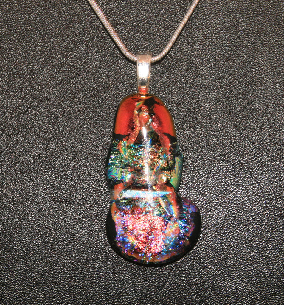 Imaginative Creations Bailed Pendant #43 Memorable Glass Jewelry