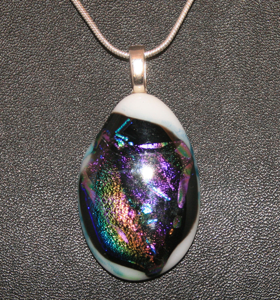 Imaginative Creations Bailed Pendant #48 Memorable Glass Jewelry