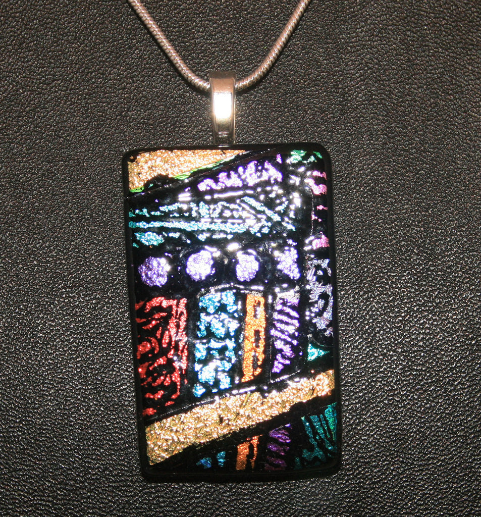 Imaginative Creations Bailed Pendant #53 Memorable Glass Jewelry