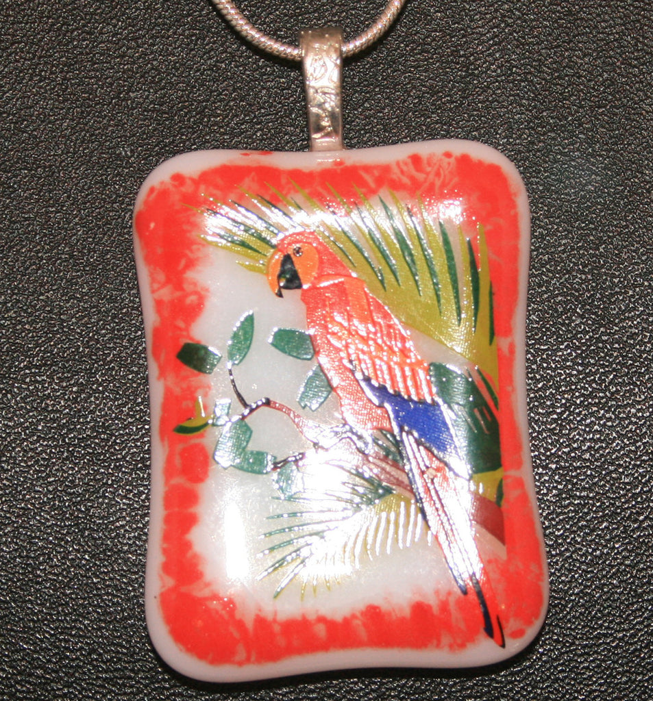 Imaginative Creations Bailed Pendant #57 Memorable Glass Jewelry