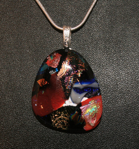 Imaginative Creations Bailed Pendant #06 Memorable Glass Jewelry