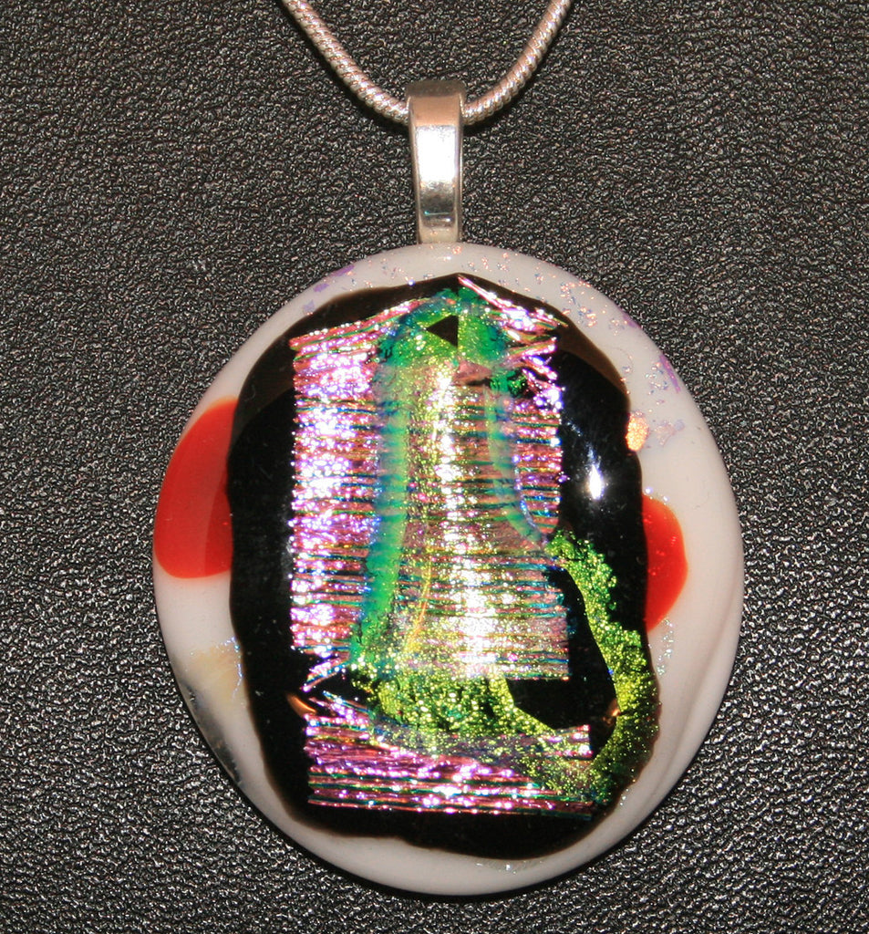 Imaginative Creations Bailed Pendant #64 Memorable Glass Jewelry