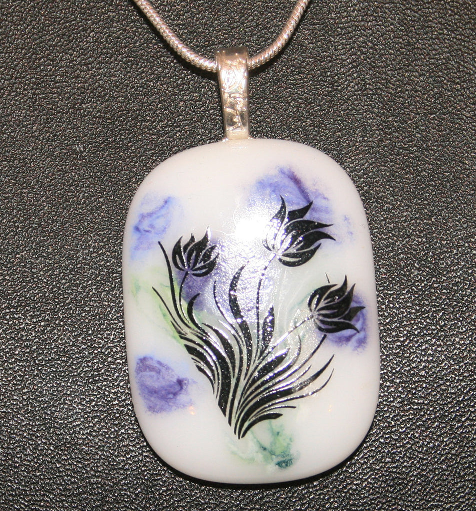 Imaginative Creations Bailed Pendant #65 Memorable Glass Jewelry
