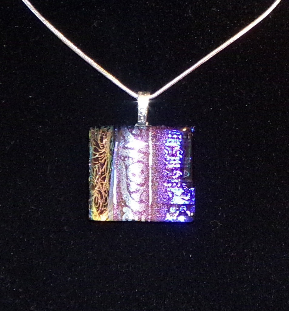 Imaginative Creations Bailed Pendant #67 Memorable Glass Jewelry