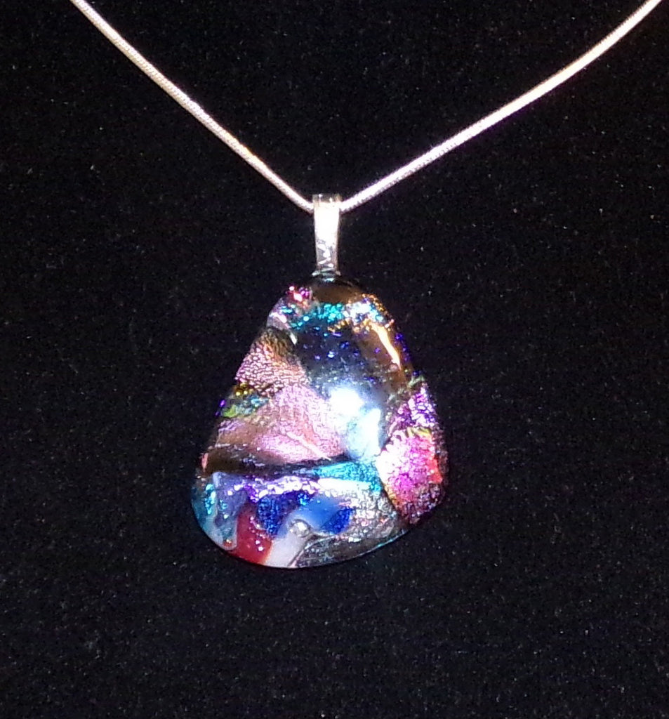 Imaginative Creations Bailed Pendant #73 Memorable Glass Jewelry