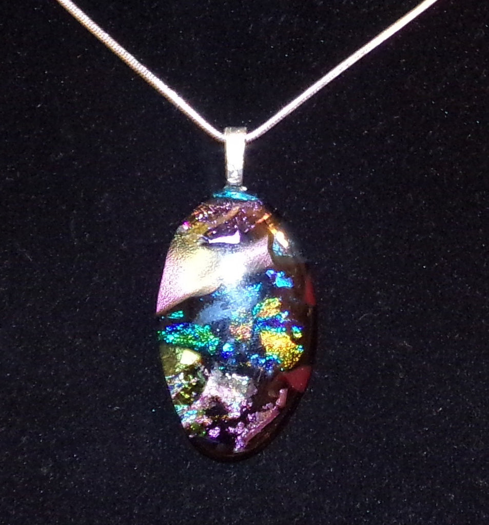 Imaginative Creations Bailed Pendant #74 Memorable Glass Jewelry