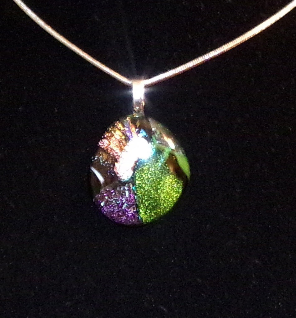 Imaginative Creations Bailed Pendant #75 Memorable Glass Jewelry
