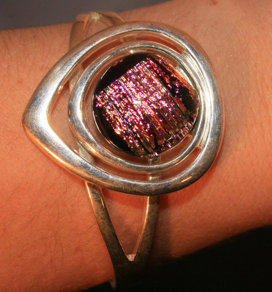 Imaginative Creations Silver Cuff Bracelet