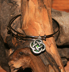 AJ n Sandy Bracelet #23 Green Black