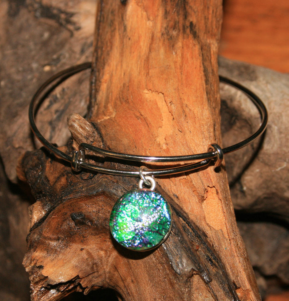 AJ n Sandy Bracelet #32 Blue Green Sparkle