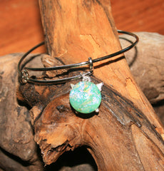 AJ n Sandy Bracelet #04 Mint Green Sparkle