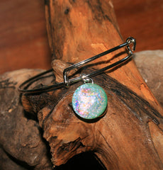 AJ n Sandy Bracelet #06 Mint Green Sparkle