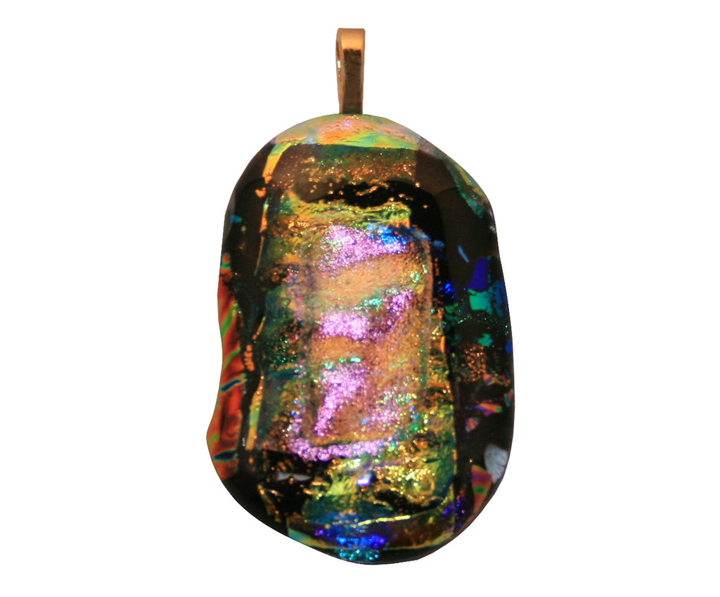 Glass Tribute & Memorial Jewelry - Abstract Style Custom Design