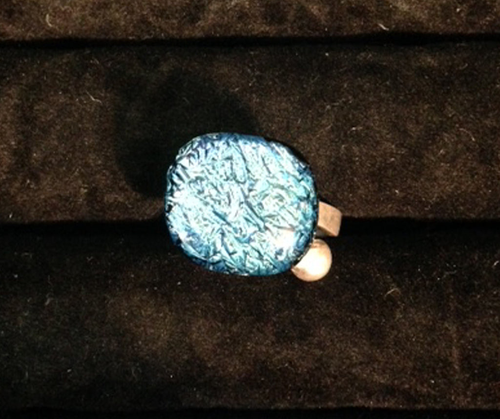 Imaginative Creations Sterling Silver Adjustable Ring #22