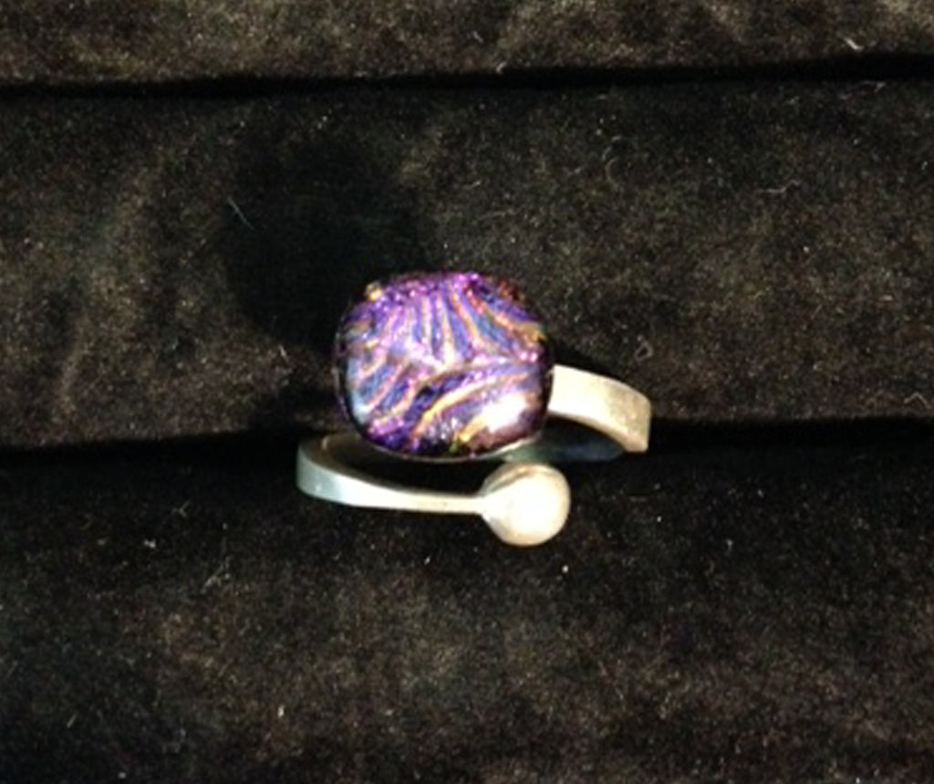 Imaginative Creations Sterling Silver Adjustable Ring #09
