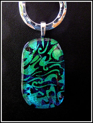 Imaginative Creations Bailed Pendant #12a Memorable Glass Jewelry